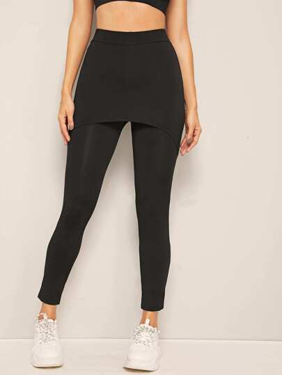 eb6f60516f66f6 Leggings, Shop Leggings Online | SHEIN IN