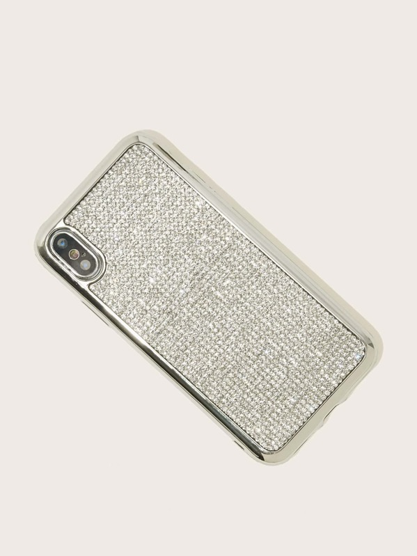 cec31d6e42 Rhinestone Decor iPhone Case | SHEIN IN