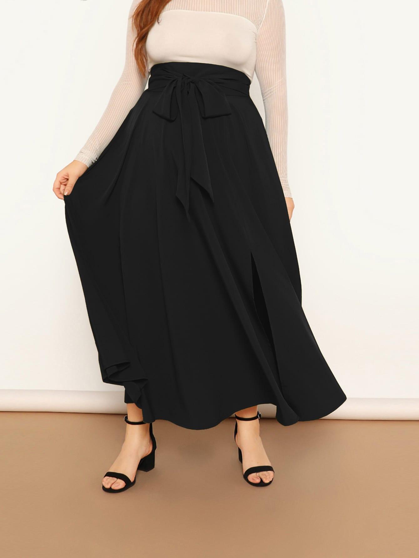 plus size skirt cotton skirt with dot flare skirt high waist skirt Maxi skirt long skirt A-line skirt customized skirt A0019