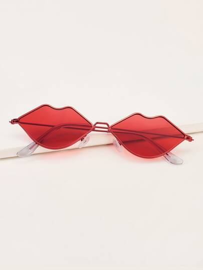 New YearMouth Design Tinted Lens Sunglasses