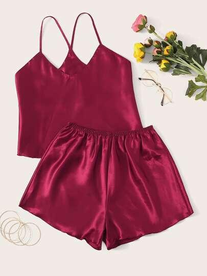 09fa1c52a245 Pajama Sets | Pajama Sets Sale Online | ROMWE
