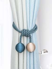 Rope Curtain Tie Back 1pc
