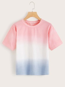 Contrast Ombre Tee