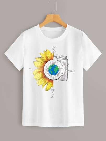 d7b92dffa T-shirts & Tees |T-Shirts for Women - Buy Stylish Women's T-Shirts ...