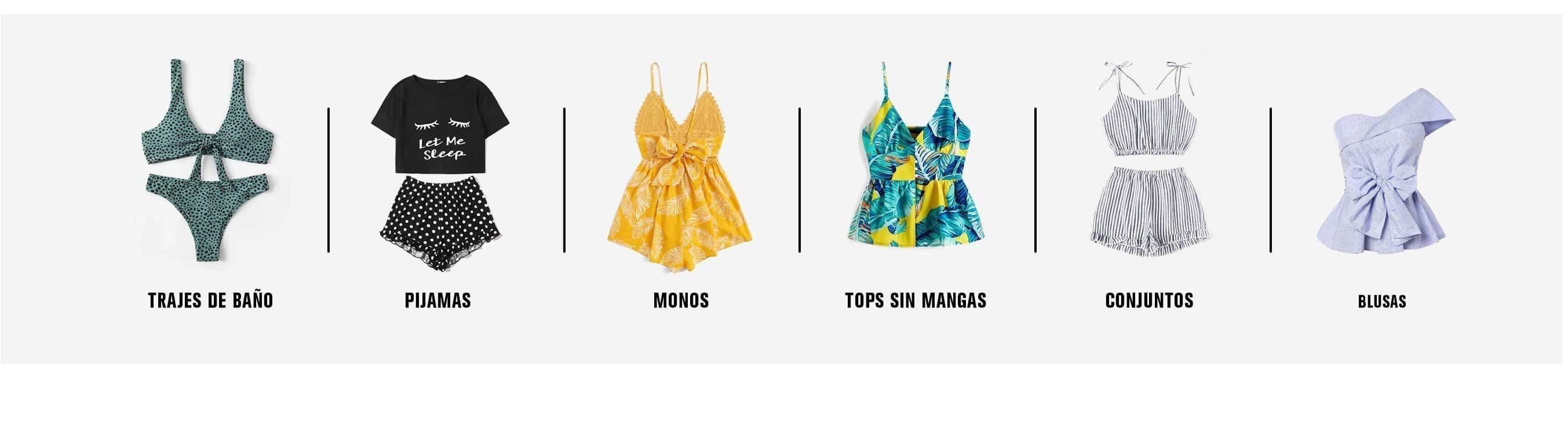 b948621ea8b2 Ropa y moda de Mujer al mejor precio online
