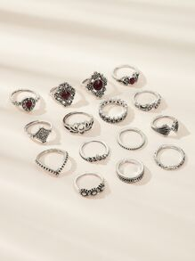 Lotus Decor Ring 15pcs
