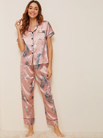 de920f2bbd Pajama Sets, Shop Pajama Sets Online | SHEIN UK