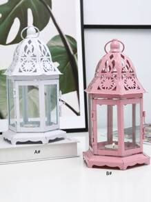 Lantern Shaped Candle Cover 1pc