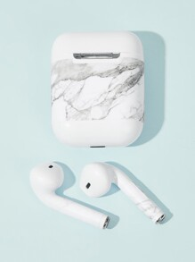 Marble Pattern Air-Pods Charger Box Protector