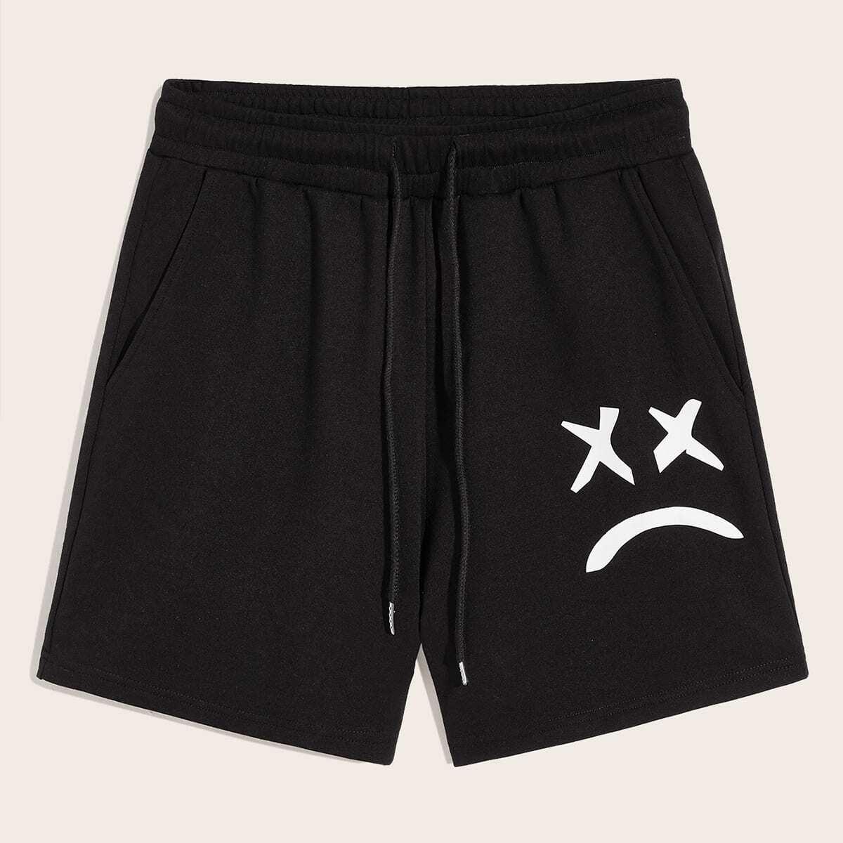 Мужские шорты с карманом на резинке