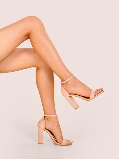 25ef288c811 Heels | Block Heel, Stilettos & Pumps for Women | SHEIN UK