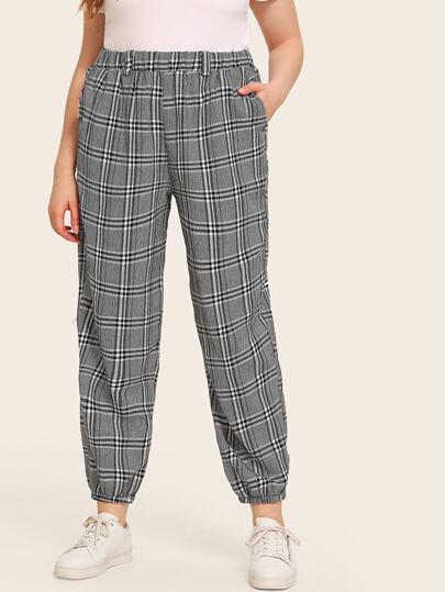 4a97504017c4 Ultime Tendenze Curve Pantaloni   Moda a piccoli prezzi   SHEIN