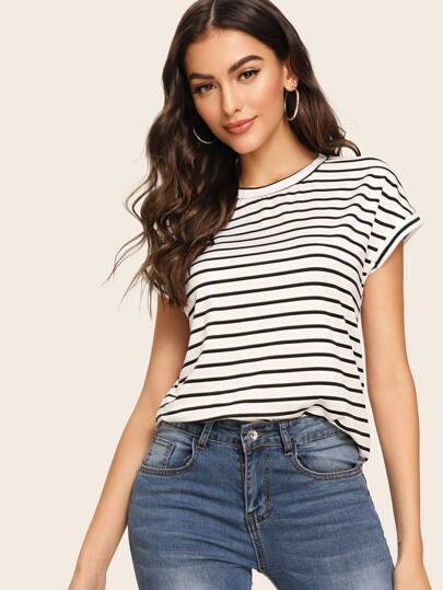 28844e2a566d2 T-shirts & Tees | Stylish T-Shirts for Women | Best Selling Tops | ROMWE