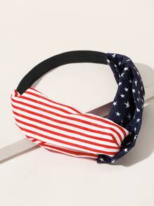 Flag Pattern Headband