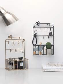 Wall Mount Storage Basket 1pc