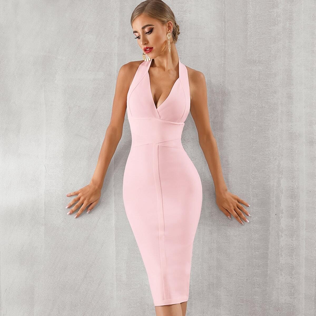 Бандажное Платье Купить