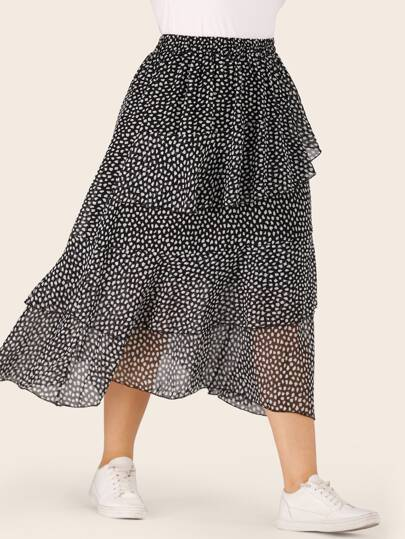 4d6bb87fc4 Plus Size Skirts, Shop Plus Size Skirts Online | SHEIN UK