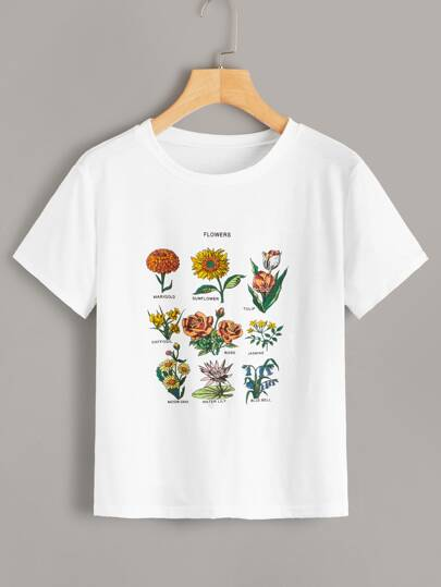 c89fc69b T-Shirts & Tees | SHEIN