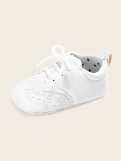 Baby Girls Lace-up Front Flats