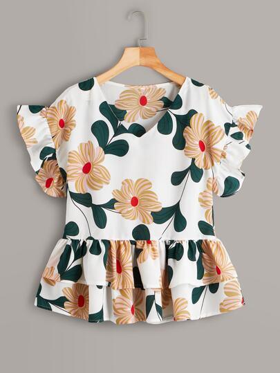 e8e809d1223a6a Women's Blouses, Shirts & Dressy Tops | SHEIN