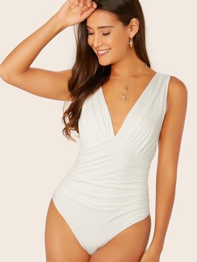 61aa6c2c0525 Bodysuits | Women's Bodysuits | SHEIN UK