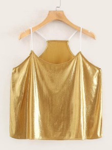 Metallic Cami Top