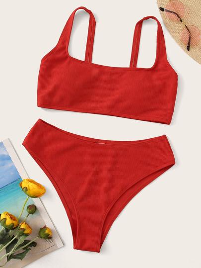 7d2b86c0e191 Högmidjade Badkläder för Kvinnor | SHEIN SE