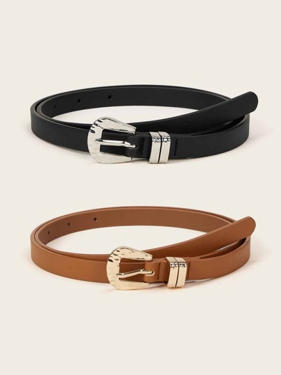 402517ced27 Women's Belts: Buckle, Waist & Skinny Belts | SHEIN UK