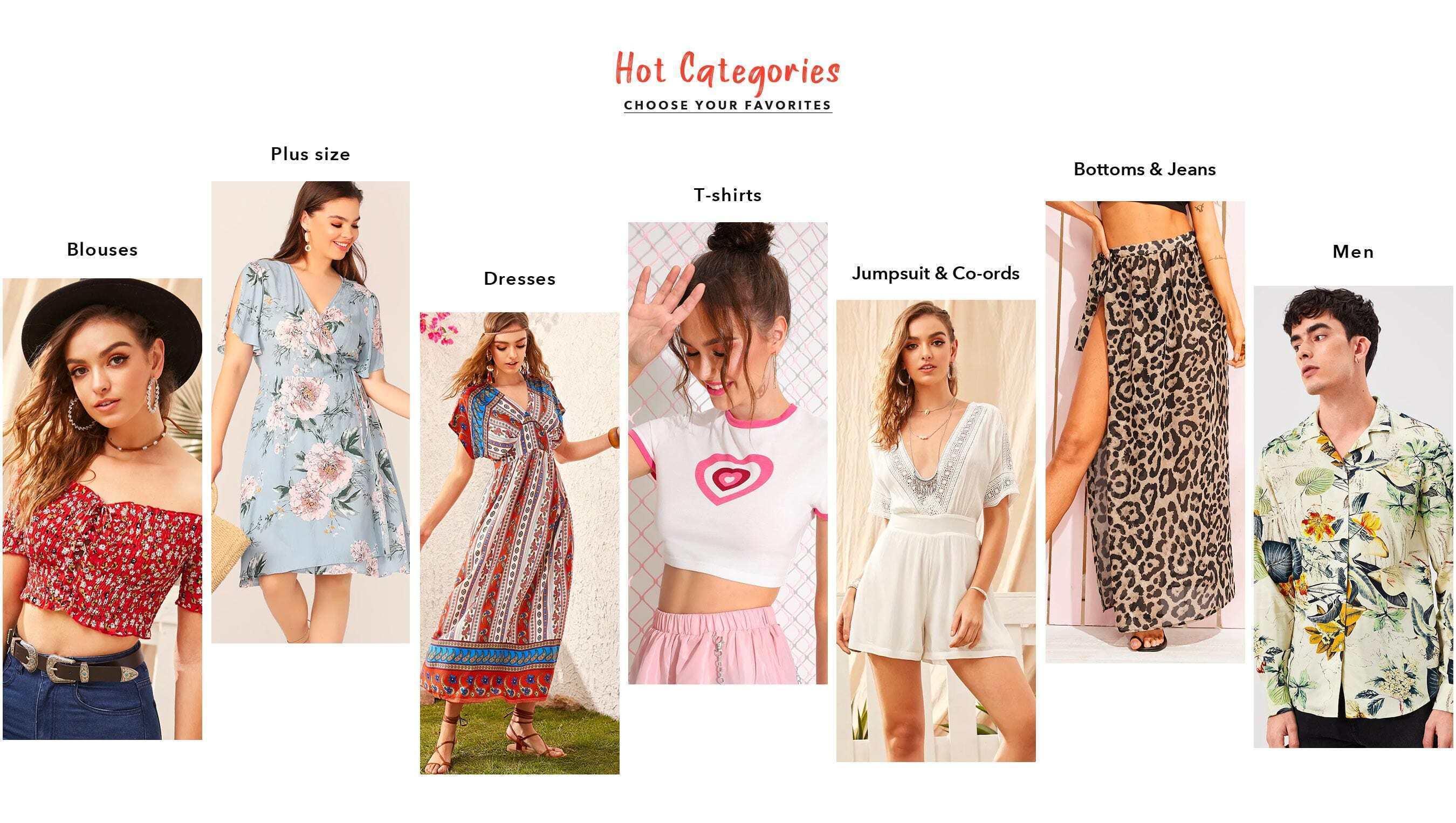 3b1fdb4a46c Shop Women's Clothing, Shoes, Bags & more online | SHEIN IN