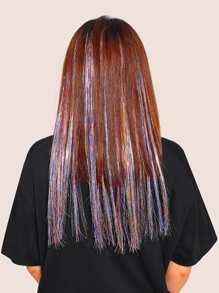 Colorful Wig Hair Tinsel 5pcs