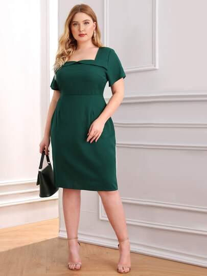 14c2ce988 Los vestidos más buscados de tallas grandes | SHEIN
