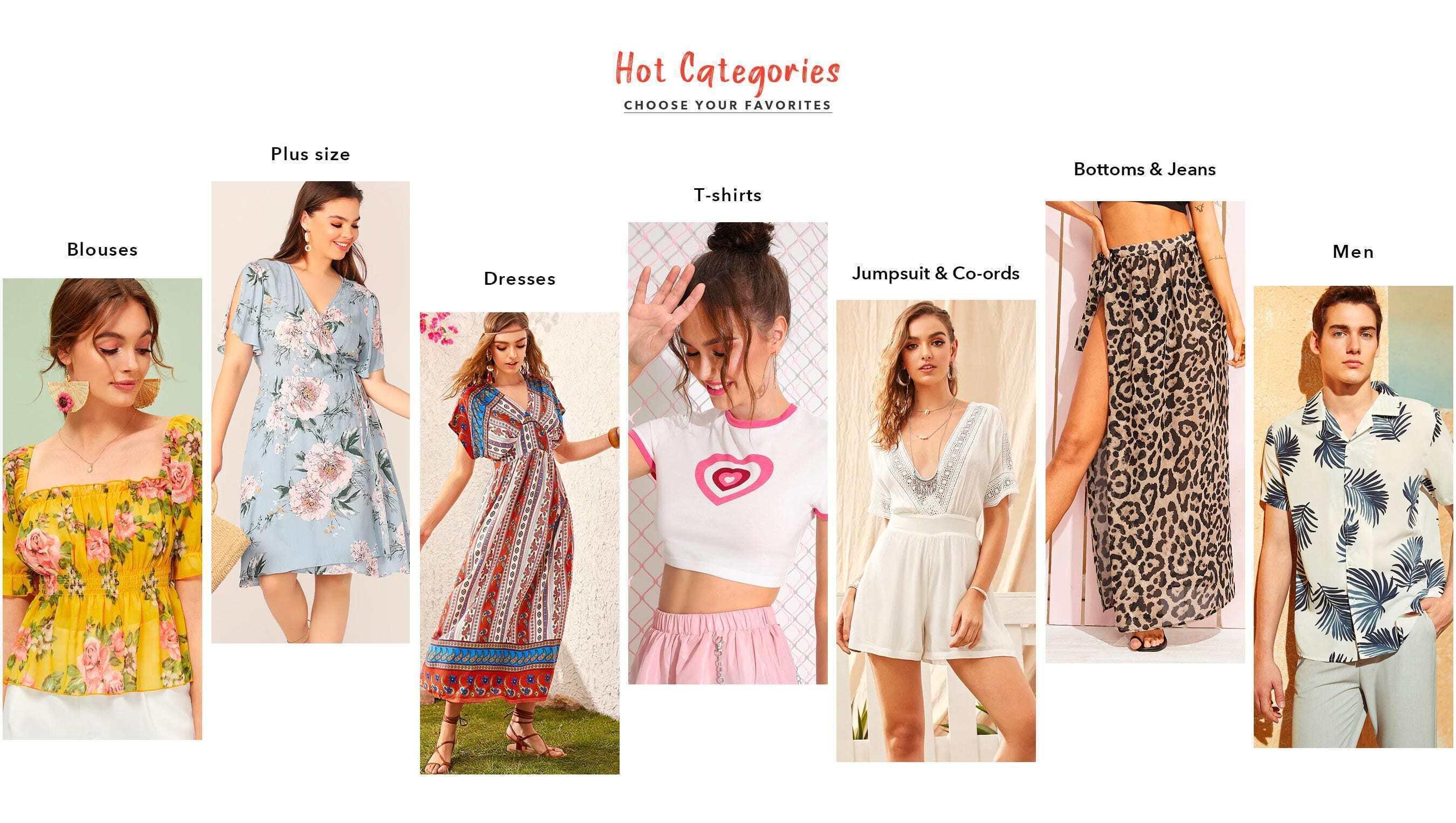 b6b4d8806 Shop Women's Clothing, Shoes, Bags & more online | SHEIN IN
