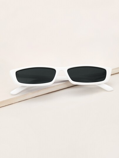 Guys Two Tone Square Sunglasses