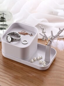 Branch Detail Desktop Jewelry Storage Box