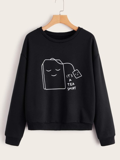 Sweat-shirt à imprimé