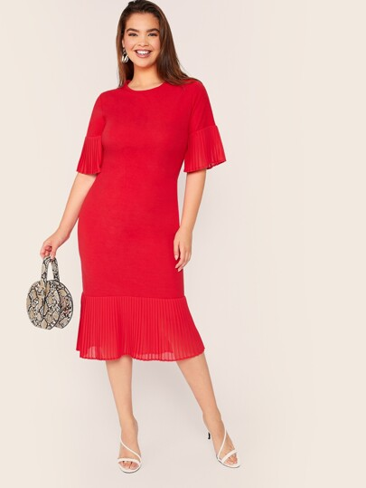 bee536b68e Women's Plus Size & Curvy Dresses | SHEIN