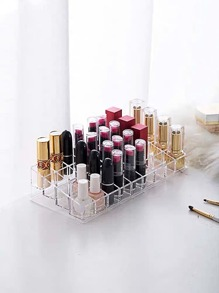 Transparent 36 Grid Lipstick Storage Box
