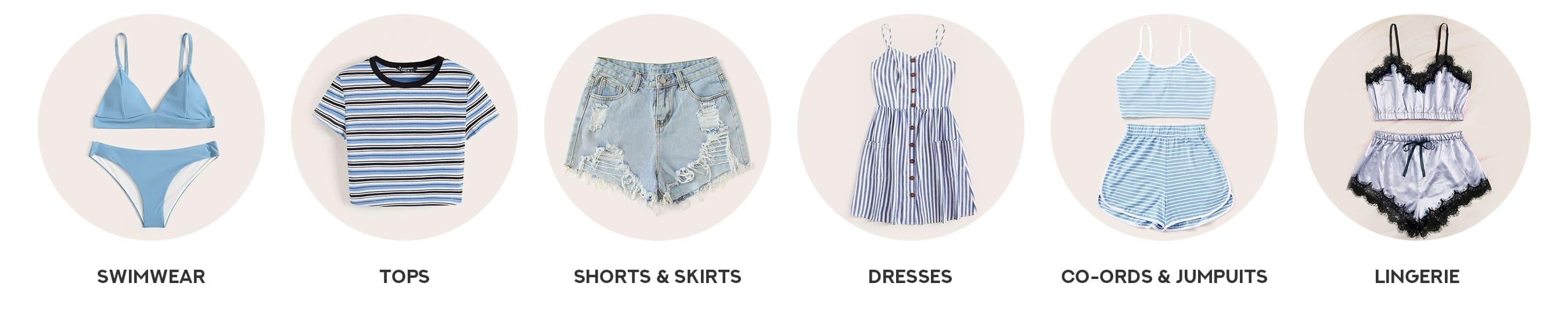 299f32cdf7b Shop The Latest Girls & Guys Fashion Trends at ROMWE