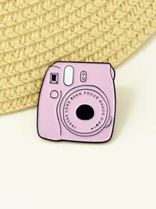 Cartoon Camera Brooch 1pc