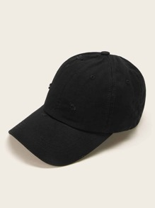 Arrow Embroidery Ripped Baseball Cap