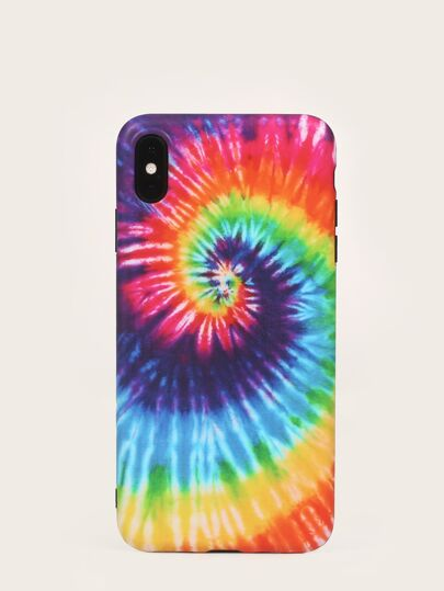 Tie Dye Pattern iPhone Case