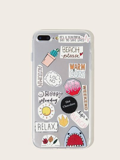 Mix Pattern iPhone Case