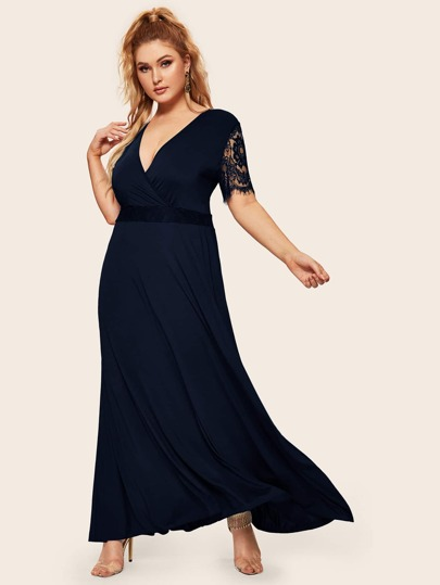 664da752e Robes grande taille femme | SHEIN