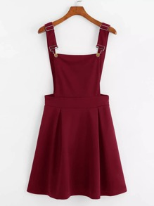 Box Pleated Pinafore Dress
