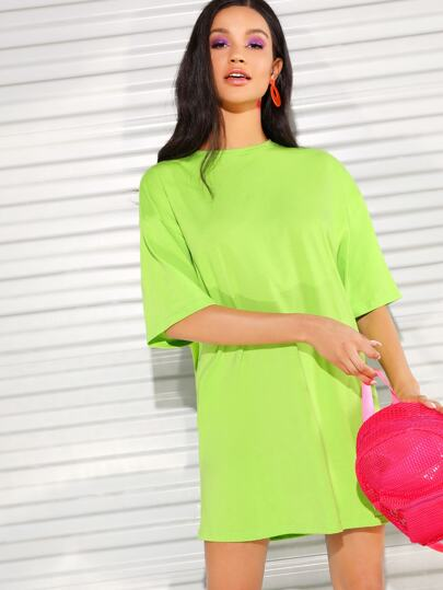 Robe t-shirt fluo