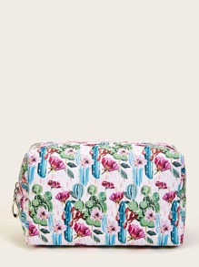 Cactus Pattern Makeup Bag