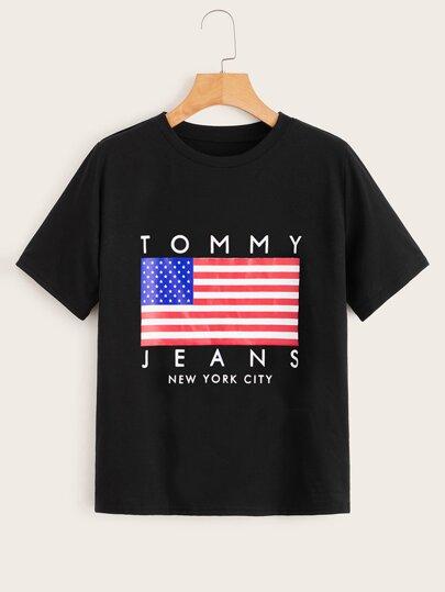 c50791343a7e Women's T-Shirts, Shop Graphic & Casual Tees | SHEIN UK