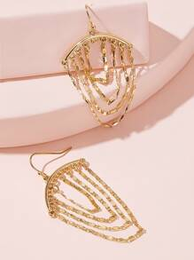 Tassel Drop Earrings 1pair