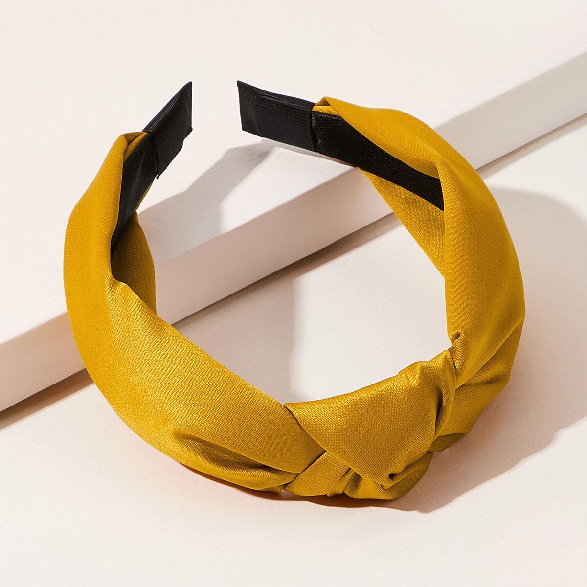 Повязка на голову с узлом от SHEIN