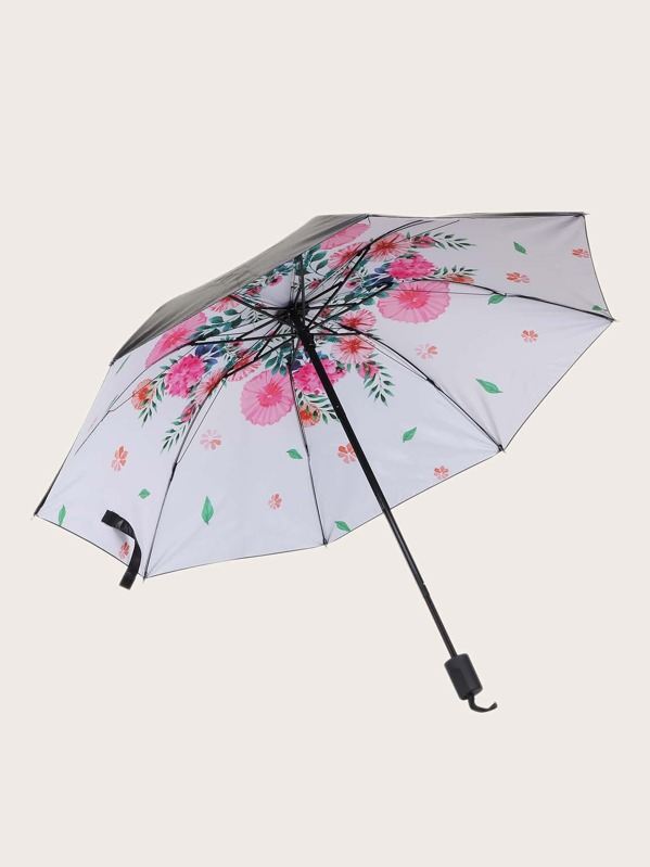 image regarding Umbrella Pattern Printable named Floral Routine Print Umbrella